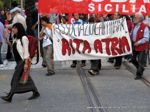 NO al PONTE ! -02/10/2010-038