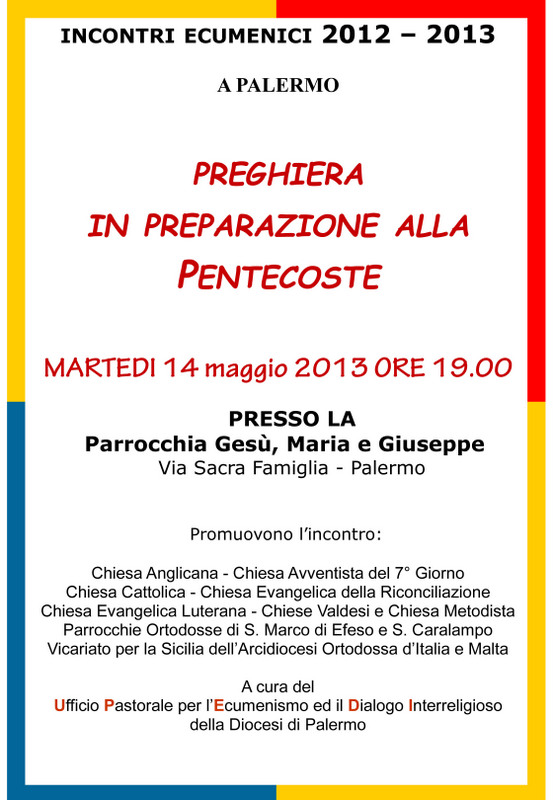 locandina 14 maggio 2013 - pentecoste