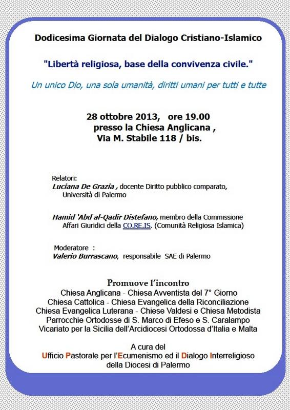 2013_10_28-UPEDI-12ªgiornata-dialogoISLAM