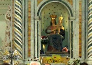 Maria Gesù Buon Pastore - Croce di Ferro - Santuario di Polsi