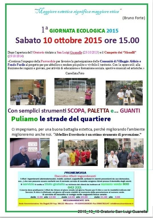 Messina – «Oratorio SLG – Campo dei Monelli – Una Comunità ...