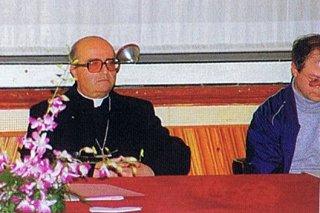 Mons. Ignazio Cannavò Arcivescovo di Messina Lipari Santa Lucia del Mela
