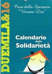 Calendario 2016-Casa della Speranza Viviana Lisi Riposto (CT)