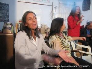 """SAN LORENZO - Circolo del Cinema """"IL PETTIROSSO"""" - presentazione libro M.A. LIUZZO"""