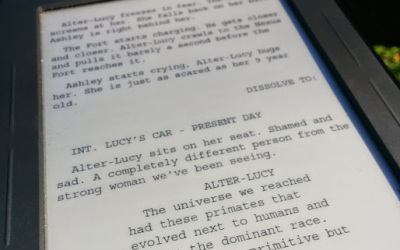 How to read screenplays on an e-reader