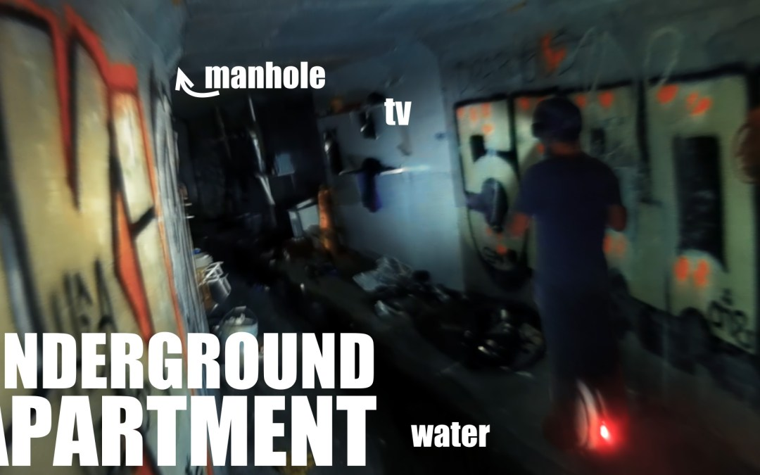 Exploring Storm Drain Tunnels in an Electric Unicycle