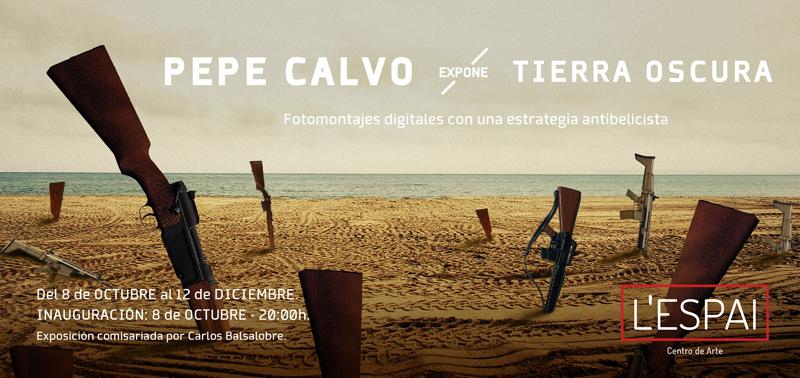 01 Expo_LESPAI_Pepe_Calvo_Flyer_by_Lorena_Rubio