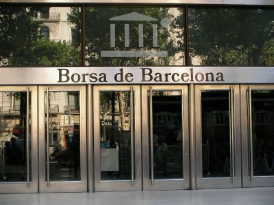 Puerta de la Bolsa de Barcelona