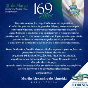 floresta - sessão homenagem