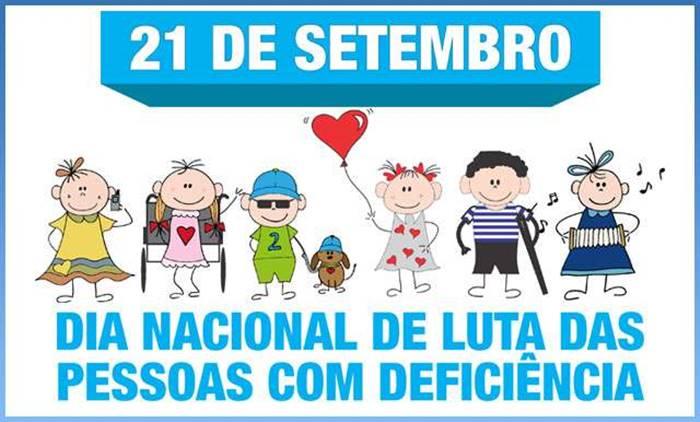 Resultado de imagem para Conheça a historia sobre o Dia Nacional de Luta das Pessoas com Deficiências