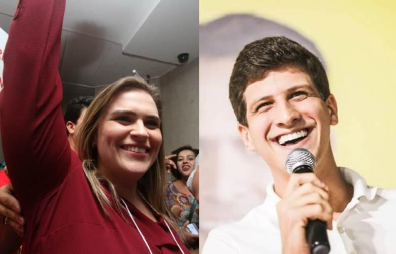 Resultado de imagem para Marilia Arraes e João Campos