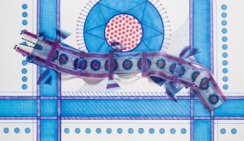 Medidas: 29.5 x 21 cm. Técnica: dibujo realizado con marcador y papel