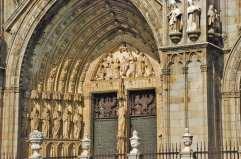 Portada de Santa María de la Catedral