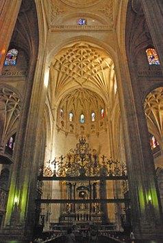 Rejas del altar mayor