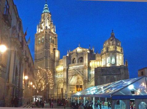 La Catedral al anochecer