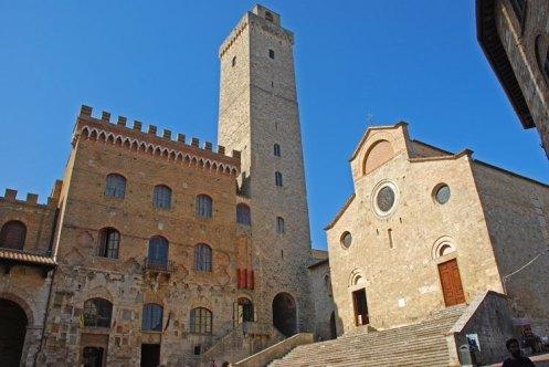Duomo, Palazzo Comunale y Torre Grossa