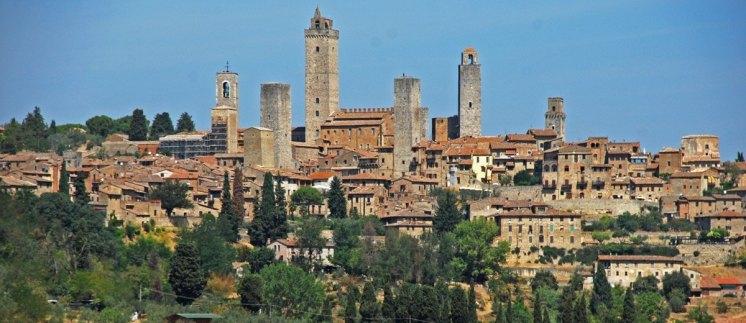 Vista panorámica de San Gimignano