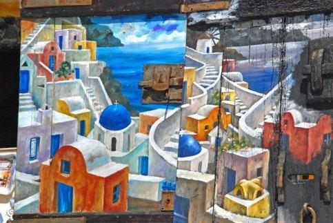 Pinturas, arte y artesanía en Ía