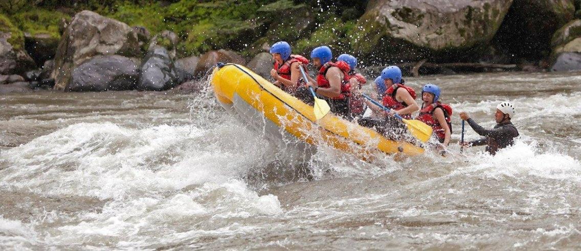 Rafting en aguas del Cabriel