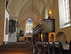Interior - Iglesia Espíritu Santo