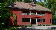 Norsk Folkmuseum. Casa Terrateniente siglo XIX