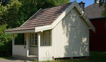 Norsk Folkmuseum. Oficina de Correos