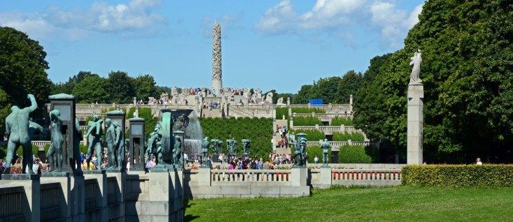 Parque Vigeland. Vista General