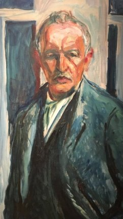 Edvard Munch. Autoretrato