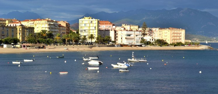 Ajaccio - Playas de la Ciudad