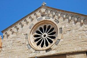 Rosetón de Santa María la Mayor