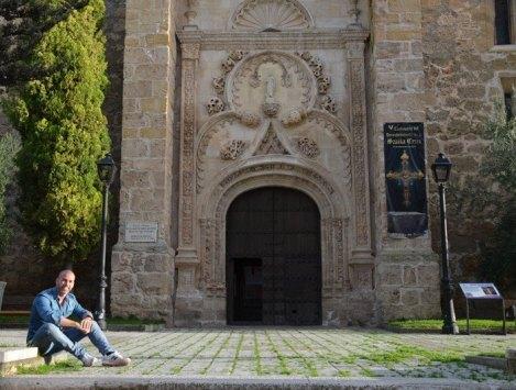 Albalate de Zorita - Portada Iglesia San Andrés