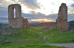 Paisaje desde el Castillo de Zorita