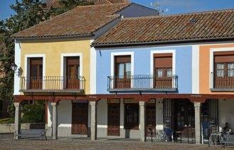 Casas de la Plaza - Lado Este