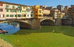 Casas sobre el Ponte Vecchio