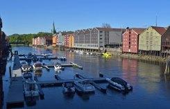 Río Nidelva y Bryggen