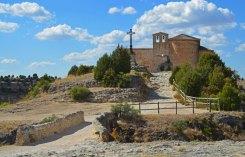 Entrada a la Ermita de San Frutos
