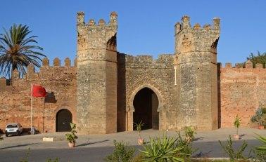 Necrópolis de Chellah. Puerta
