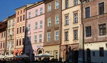 Plaza Maly Rynek. Casas Medievales