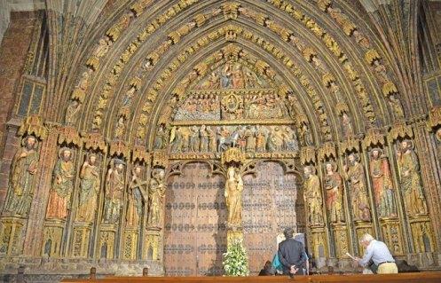 Pórtico Gótico de Santa María de los Reyes, Laguardia