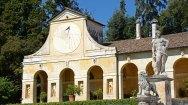 Villa Barbaro. Cuerpo Lateral y Estatua