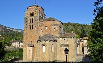Monasterio de Santa Cruz de la Serós. Torre y Ábside