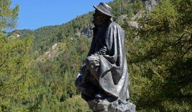 Parque Nacional Triglav. Monumento a Julius Kugy