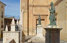 Estatuas de Calixto III & Alejandro VI