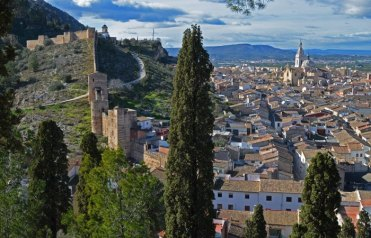 Vista de Xàtiva desde el Calvario