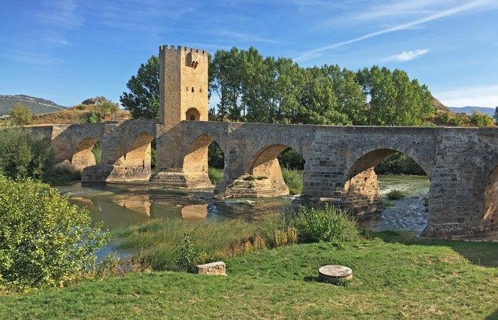 Puente de Frías y el Ebro