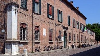 Corso Ercole de Este. Bicicletas