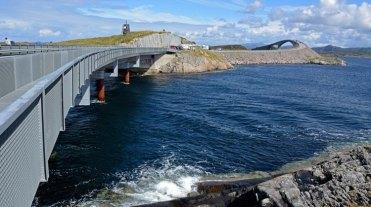 Carretera del Atlántico. Puentes e Islas