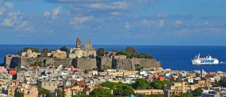 Castillo y Catedral de Lipari
