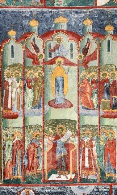 Monasterio Sucevita. Himno Acatisto