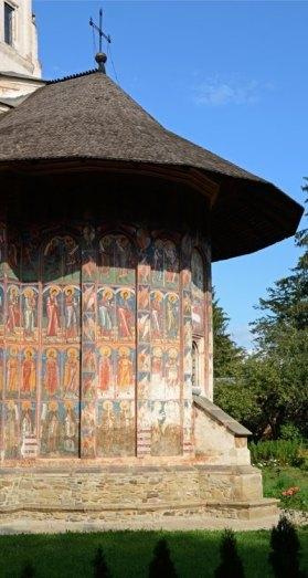 Monasterio Moldevita. Ábside
